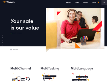 Tivron Web Design