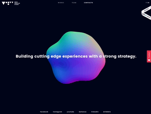 Miew Creative Studio Web Design
