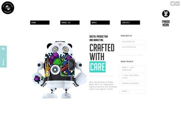 Panda Monk Design and development studio Web Design