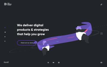 The Digital Panda Web Design
