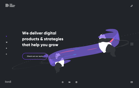 The Digital Panda Web Design