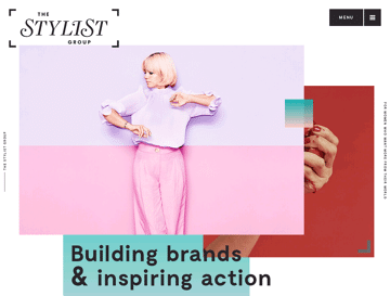 The Stylist Group Web Design