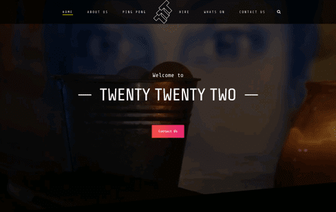 Twenty Twenty Two Web Design