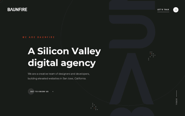 Baunfire Digital Agency in Silicon Valley Web Design