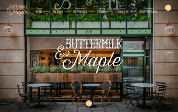 Welcome to Buttermilk and Maple Web Design