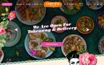 Comptoir Libanais Web Design