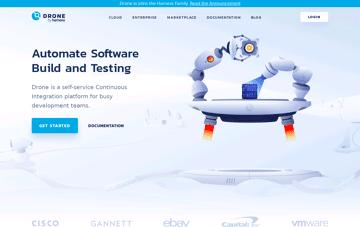 Drone CI Web Design