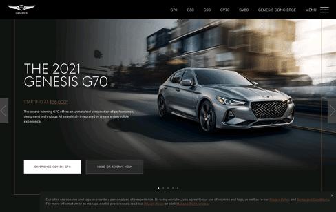Genesis USA Web Design