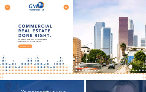 GM Properties Web Design