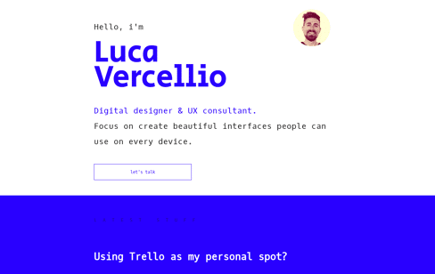 Luca Vercellio Web Design