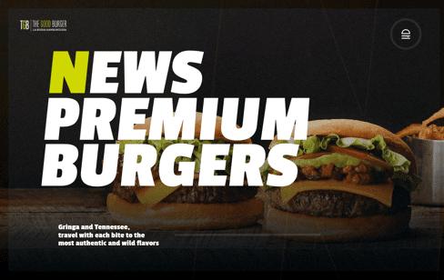 The Good Burger Web Design
