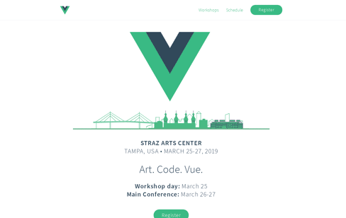 VueConf US Web Design