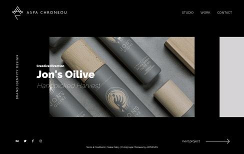 Aspa Chroneou Brand Identity Design Web Design