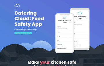 Catering Cloud Web Design