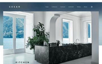 Cesar Cucine Web Design