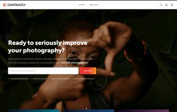 Contrastly Web Design