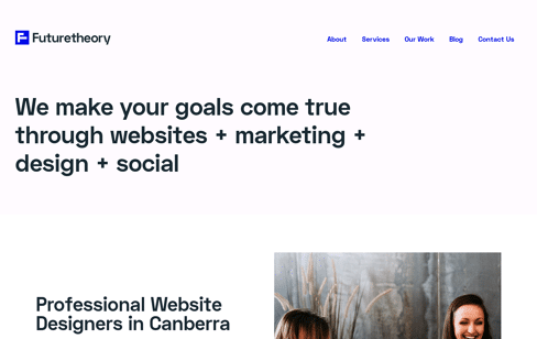 Futuretheory Canberra Web Design Web Design