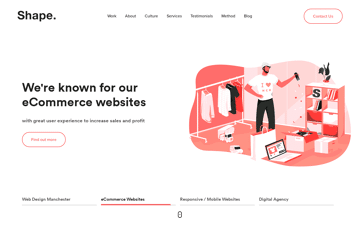 MadeByShape Digital Agency Web Design
