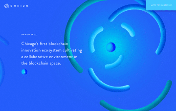 Omnium Blockchain Web Design