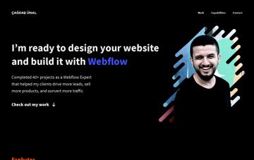 Çağdaş Ünal Webflow Expert Web Design