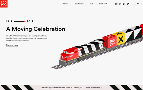 CN100 Web Design