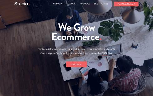 Grow with Studio! Web Design