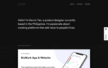 Kervin Tan Web Design