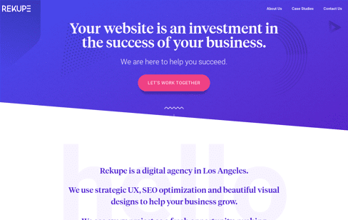 Rekupe Web Design Agency Web Design