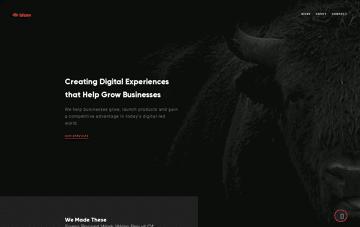 Bison Studio Digital UX Agency Web Design