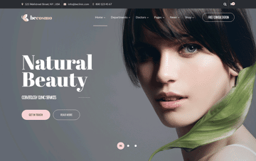BeCLINIC Web Design