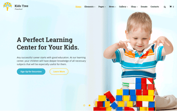 Kids Tree Web Design