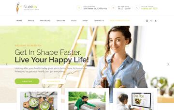 Nutritia Web Design