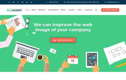 SEO Agent Web Design