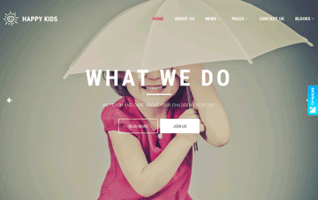 Happy Kids Web Design