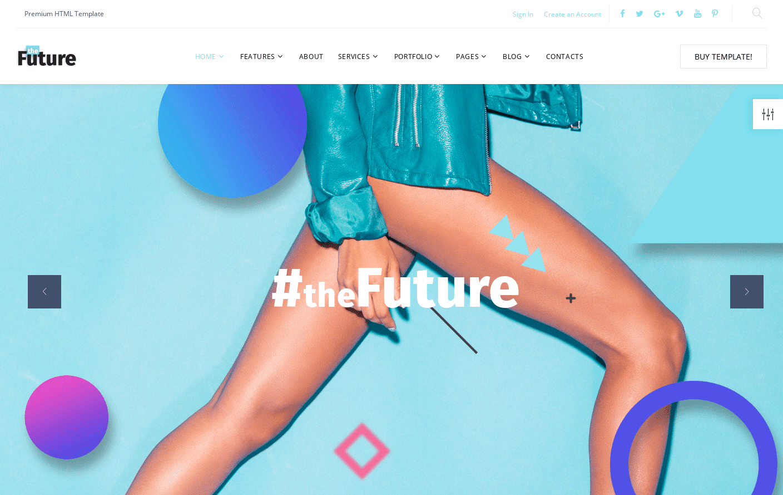 Buy Future Template