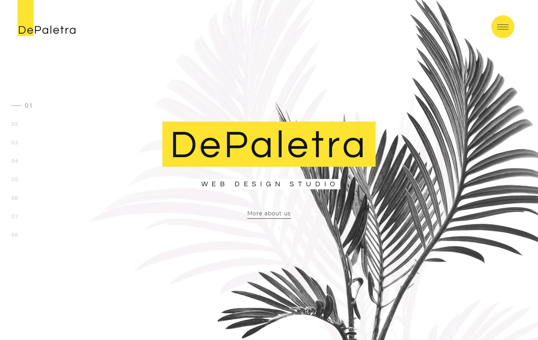 Buy DePalestra Template