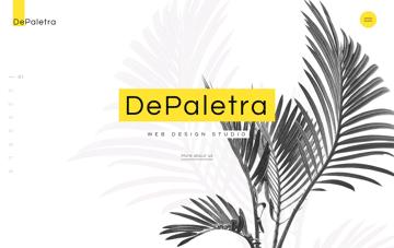 Buy DePalestra Template Web Design
