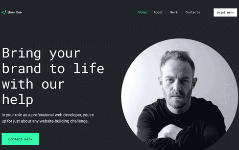 JhonDoe Wordpress Theme Web Design