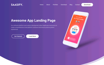Saasify Web Design