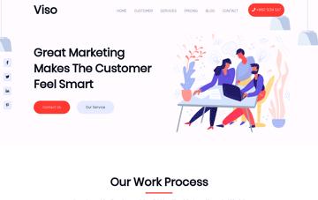 Viso Wordpress Theme Web Design