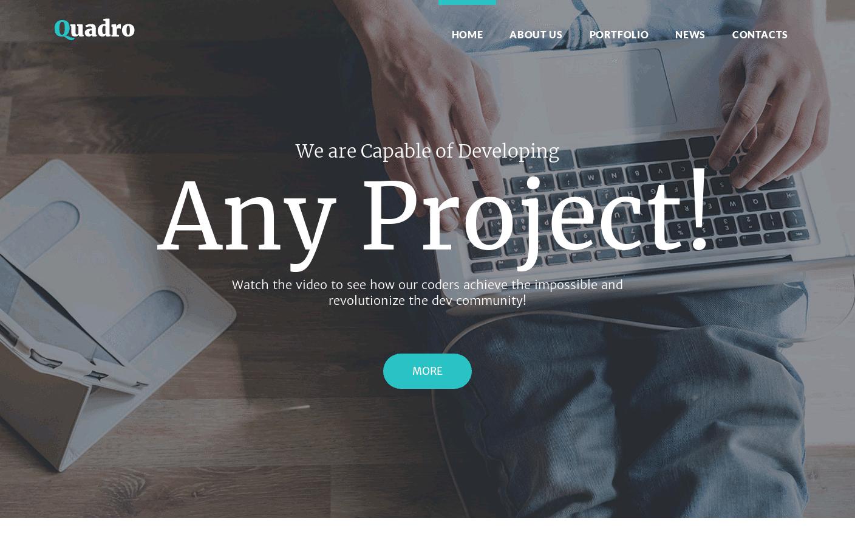 Wordpress Theme : Quadro