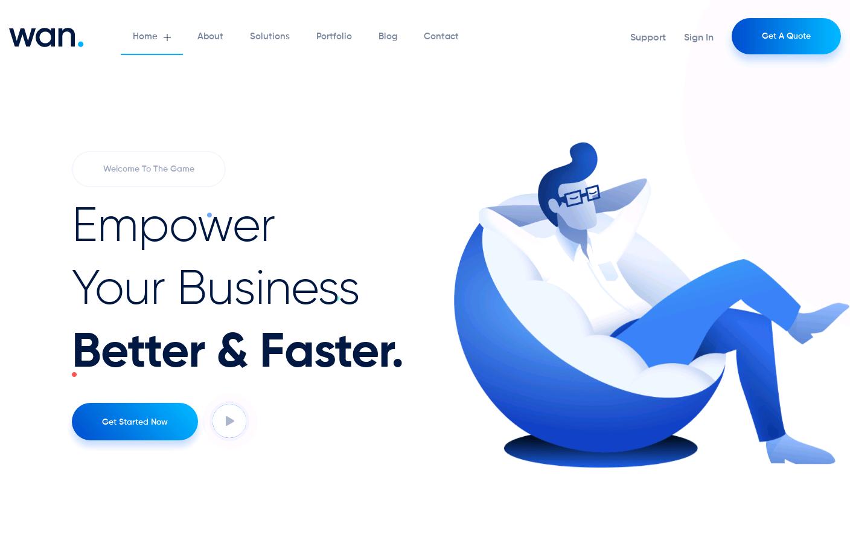 Wan WordPress Theme