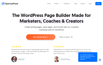 OptimizePress Landing Page Builder for WordPress Web Design