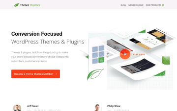 Thrive Themes WordPress Themes Web Design
