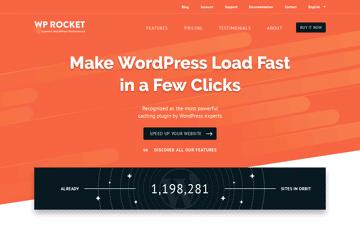 WP Rocket Caching Plugin for WordPress Web Design