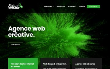 Spinat Digital Agency Web Design