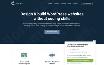 Codeless Web Design