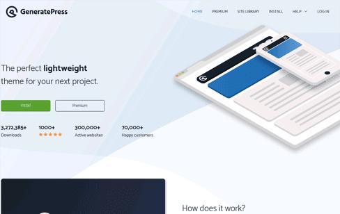 GeneratePress Web Design