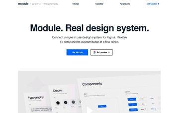 Module Design system for Figma Web Design